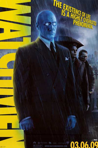 Watchmen Doctor Manhattan DC Comics Movie Poster