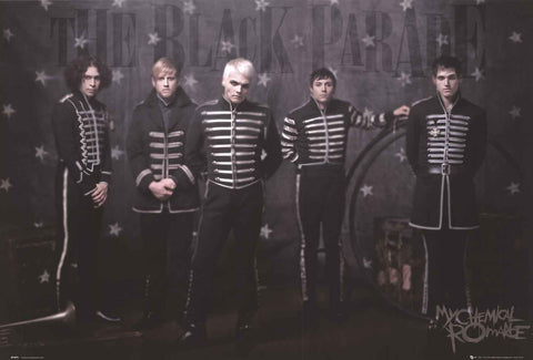My Chemical Romance Band Poster