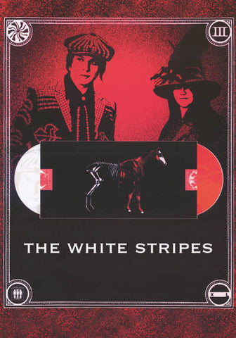 White Stripes Icky Thump Horse Jack White 24x34 Poster