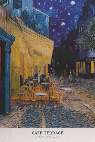 Vincent Van Gogh Cafe Terrace Poster