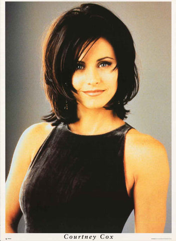 Courtney Cox Portrait Poster