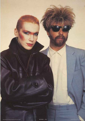 The Eurythmics Band Poster