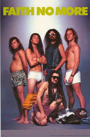 Faith No More Band Poster