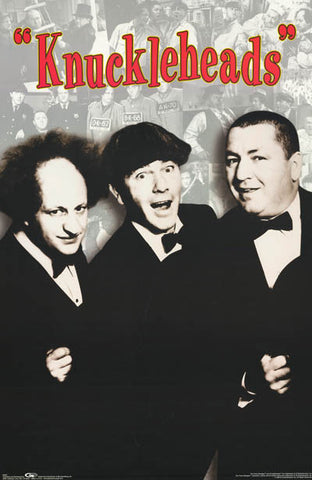 The Three Stooges Knuckleheads Poster