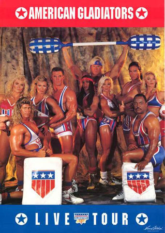 American Gladiators TV Show Poster