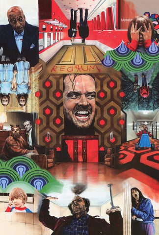 The Shining Stanley Kubrick Movie Poster