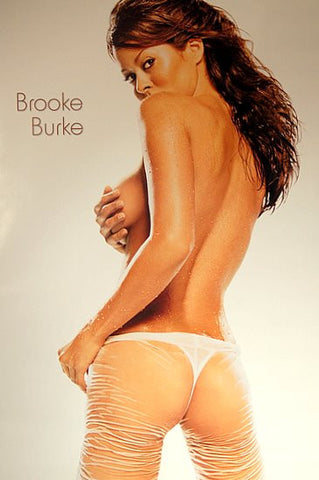 Brooke Burke Pin-Up Poster