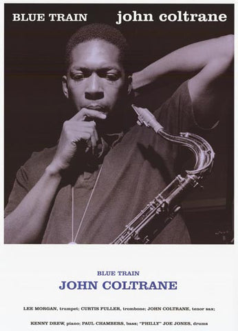 John Coltrane Blue Train Portrait w/ Band 23x33 Poster