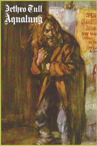Jethro Tull Aqualung Poster
