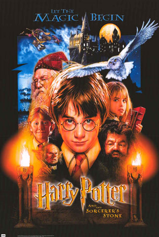 Harry Potter Sorcerer's Stone Movie Poster