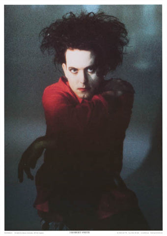Robert Smith Color Portrait The Cure 24x34 Poster