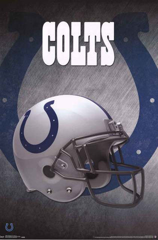 Indianapolis Colts NFL Football Poster