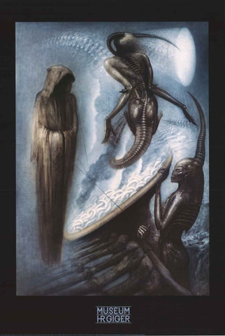 HR Giger The Magus Poster