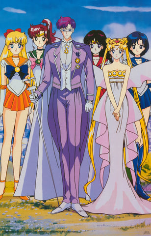 Sailor Moon Cartoon Poster