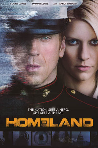 Homeland Hero or Threat? TV Show Poster 24x36