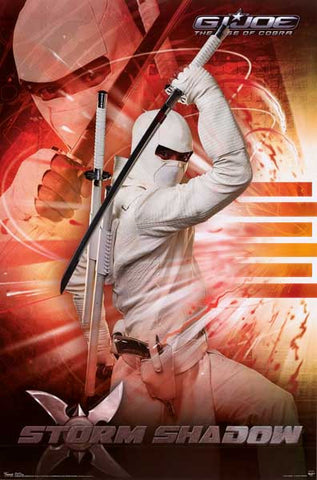 GI Joe Storm Shadow Poster