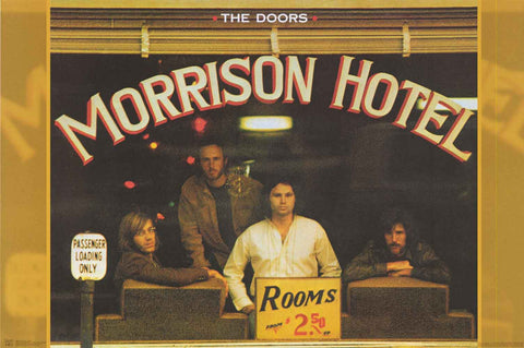 The Doors Morrison Hotel Poster