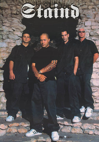 Staind Band Poster