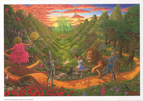 Tom Masse Wizard of Oz Poster
