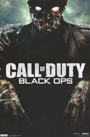Call of Duty Black Ops Zombie Poster