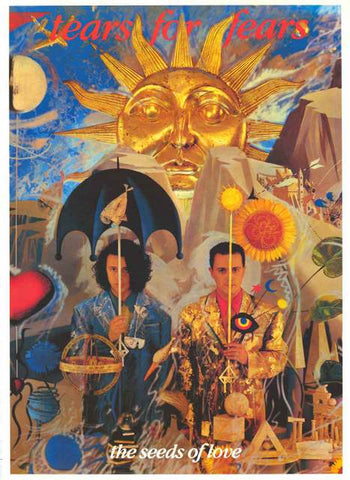 Tears for Fears Band Poster