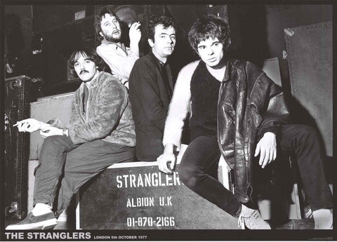 The Stranglers Band Poster