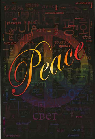 Peace Coexist Poster