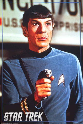 Star Trek Mr Spock Poster