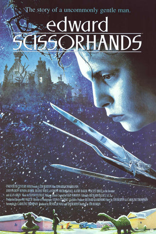 Edward Scissorhands Movie Poster 24x36