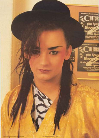 Boy George Culture Club Poster