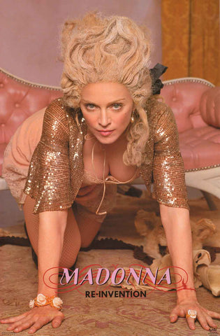 Madonna Re-Invention Tour Poster