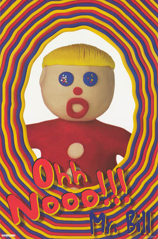 Mr Bill Saturday Night Live Poster