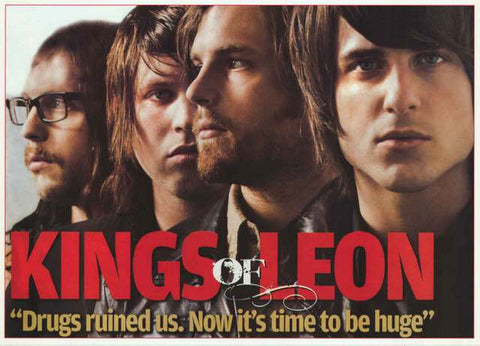 Kings of Leon Band Poster