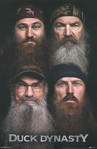 Duck Dynasty TV Show Cast Poster