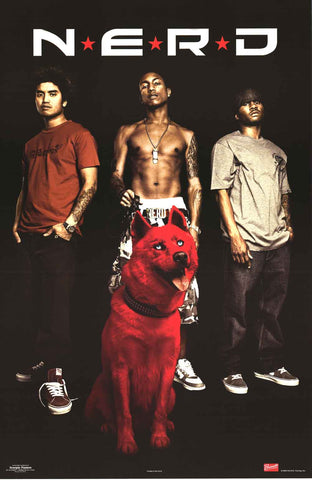 N.E.R.D. Band Poster
