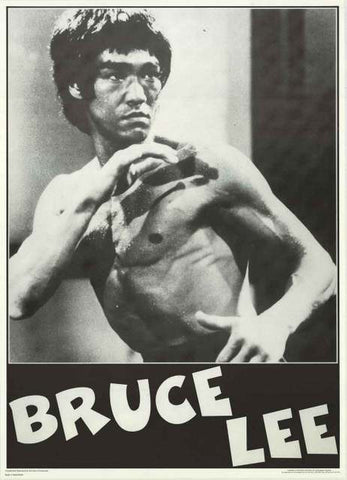 Bruce Lee Portrait Poster