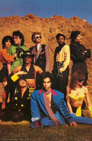 Prince and the Revolution Group Orig 1988 23x35 Poster