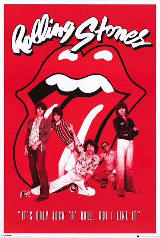 The Rolling Stones Band Poster
