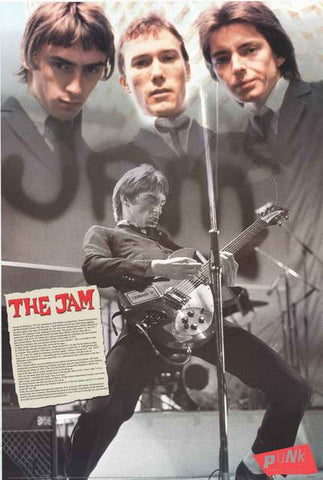 The Jam Paul Weller Poster