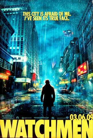 Watchmen DC Comics Movie Poster