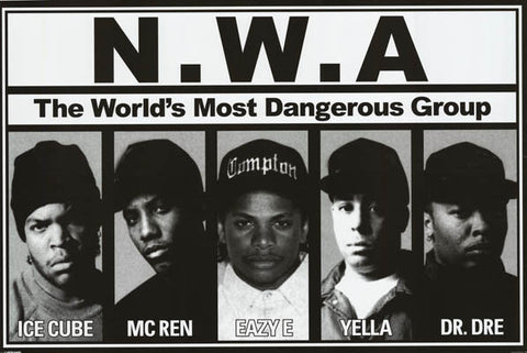 NWA World's Most Dangerous Group Poster
