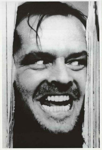 The Shining Jack Nicholson Poster