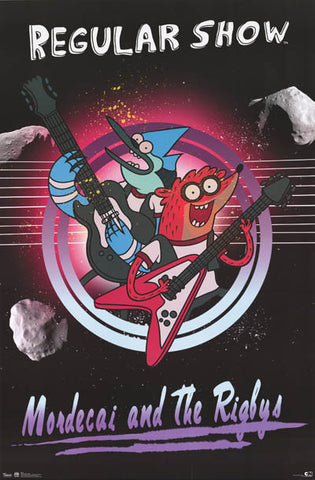 Regular Show Cartoon Poster