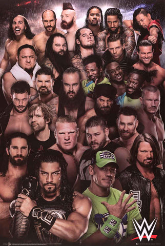 WWE Wrestling Superstars Poster