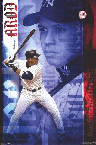 Alex Rodriguez New York Yankees Poster