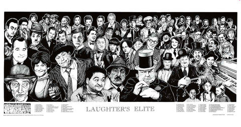Howard Teman Laughter's Elite Poster