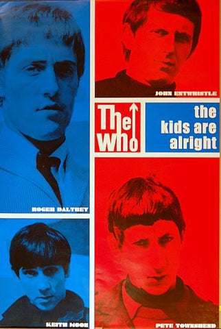 The Who Band Poster