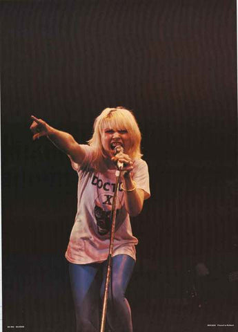 Blondie Debbie Harry Poster