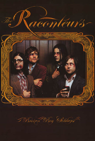 Raconteurs Broken Boy Soldiers Jack White 24x34 Poster