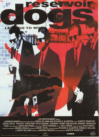 Reservoir Dogs Movie Poster